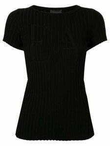 Emporio Armani EA logo T-shirt - Black