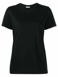 Moncler logo print T-shirt - Black