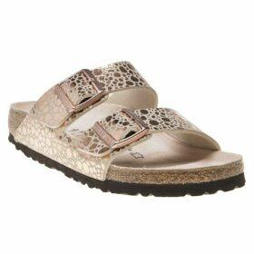 Birkenstock Arizona Sandals, Metallic Stones Copper