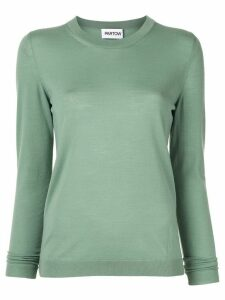 Partow basic knitted jumper - Green