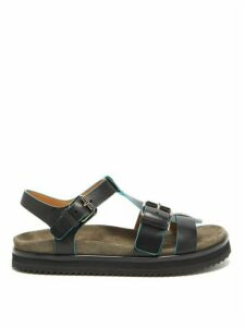 Church's - Britney Buckle-strap Leather Sandals - Womens - Black
