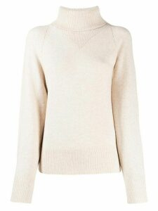Joseph roll neck sweater - NEUTRALS