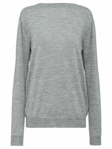 Prada worsted jumper - Grey