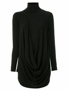 Uma Raquel Davidowicz Church draped blouse - Black