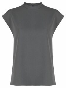 Tibi casual crew neck T-shirt - Grey