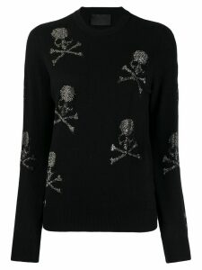 Philipp Plein skull sweater - Black