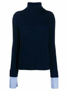Jejia roll neck jumper - Blue