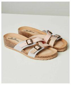 Ti Adoro Nubuck Leather Sandals