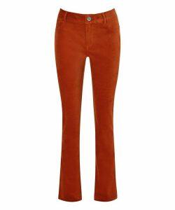 Autumn Memories Velvet Trousers
