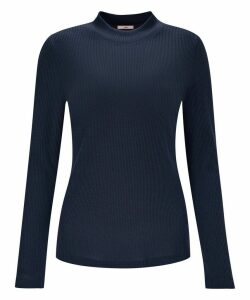 Turtleneck Rib Knit