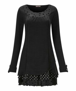 Touch Of Polka Dot Tunic