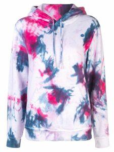 Lhd Big sur tie-dye hoodie - PINK