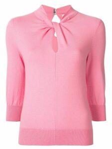 Erdem fine knit top - PINK