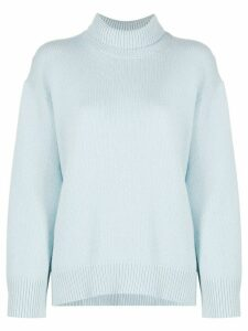 Sminfinity turtle neck jumper - Blue