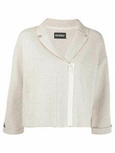 Ecoalf dropped shoulder jacket - NEUTRALS