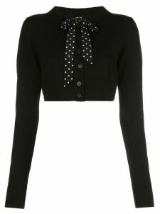 Altuzarra Trocadero bow cardigan - Black