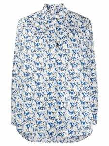 PS Paul Smith rabbit print shirt - Blue