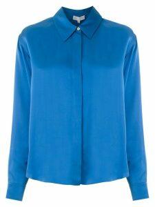 Nk Washed Andrea satin shirt - Blue
