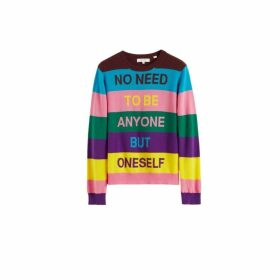 Chinti & Parker Multicolour Oneself Striped Cashmere Sweater