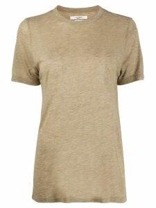 Isabel Marant Étoile longline lightweight T-shirt - Green