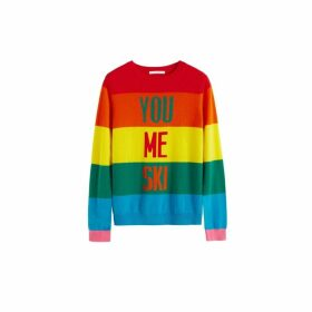 Chinti & Parker Rainbow You Me Ski Wool-cashmere Sweater