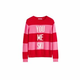 Chinti & Parker Red You Me Ski Wool-cashmere Sweater