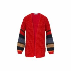 Gerard Darel Loose Fitting Mohair-blend Smart Cardigan