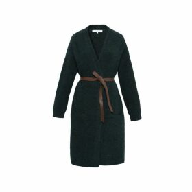 Gerard Darel Long And Belted Sequoia Cardigan