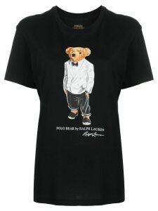 Polo Ralph Lauren Polo Bear logo T-shirt - Black