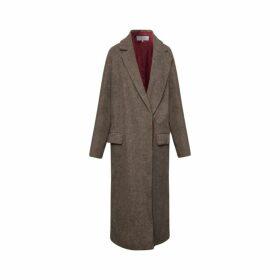 Gerard Darel Loose-fitting Wool Priska Coat