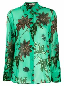 Dorothee Schumacher floral print blouse - Green
