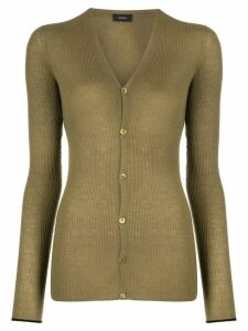 Joseph ribbed knit cardigan - Green