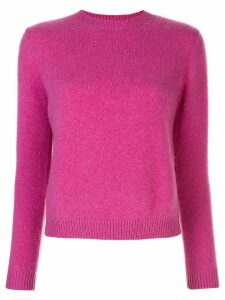 The Elder Statesman crew-neck jumper - PINK