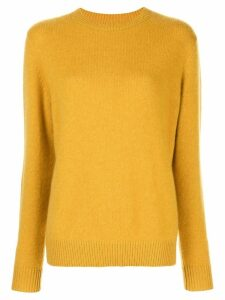 The Elder Statesman dolman sleeve jumper - Yellow