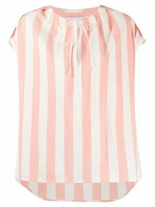 Christian Wijnants Tapanga striped T-shirt - PINK