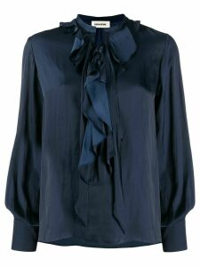 Zadig & Voltaire Turner tunic top - Blue