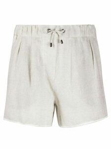 Brunello Cucinelli drawstring shorts - NEUTRALS