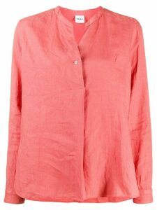 Aspesi band collar shirt - PINK