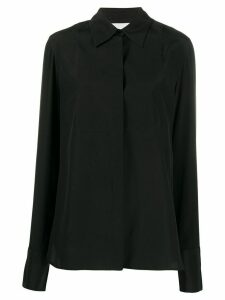 Jil Sander classic silk shirt - Black