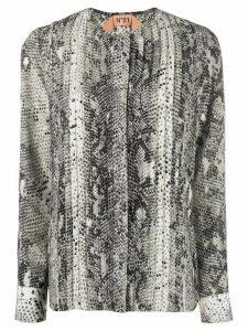 Nº21 snake print blouse - Black
