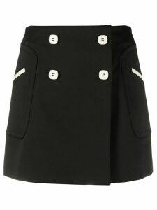Vivetta double-breasted skirt - Black