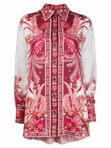 Zimmermann Wavelength Phoenix-print shirt - PINK