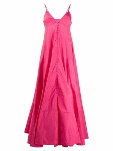 Jacquemus La robe Manosque long dress - PINK