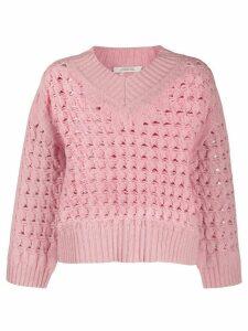 Dorothee Schumacher chunky knit jumper - PINK