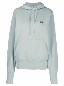 Eytys Lewis logo hoodie - Blue