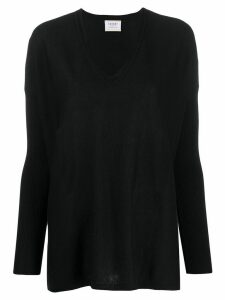 Snobby Sheep v-neck jumper - Black