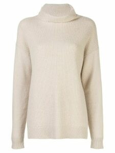 Alice+Olivia Daphney oversized jumper - NEUTRALS