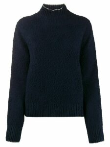 Acne Studios brushed knitted jumper - Blue