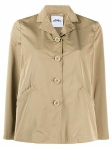 Aspesi straight-fit shirt jacket - Brown