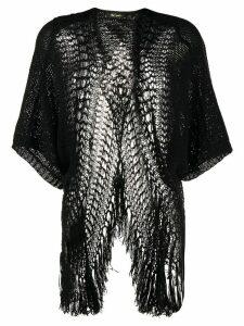 Mes Demoiselles Caicos loose knit cardigan - Black